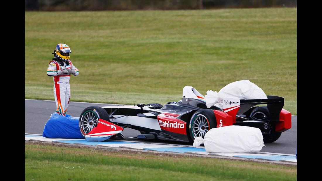 Karun Chandhok - Formel E-Test - Donington - 07/2014