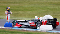 Karun Chandhok - Formel E-Test - Donington - 07/2014