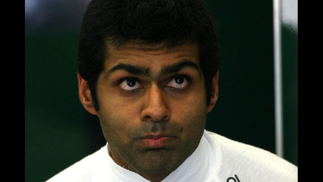 Karun Chandhok - GP Belgien - 26. August 2011
