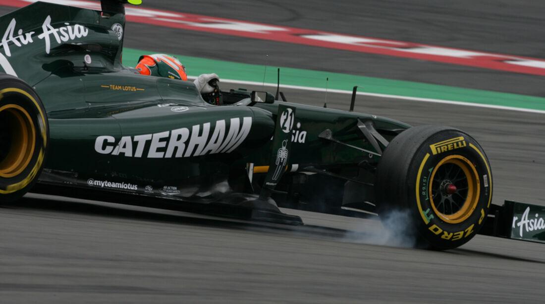 Karun Chandhok GP Deutschland 2011