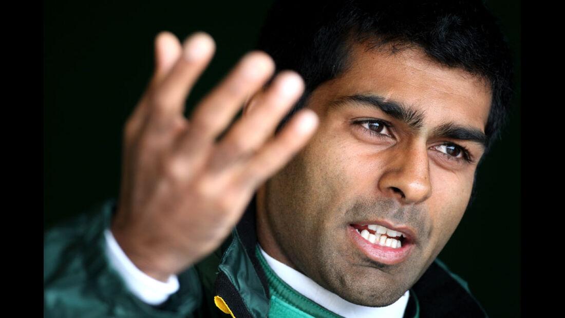 Karun Chandhok - GP England - Training - Silverstone - 8. Juli 2011