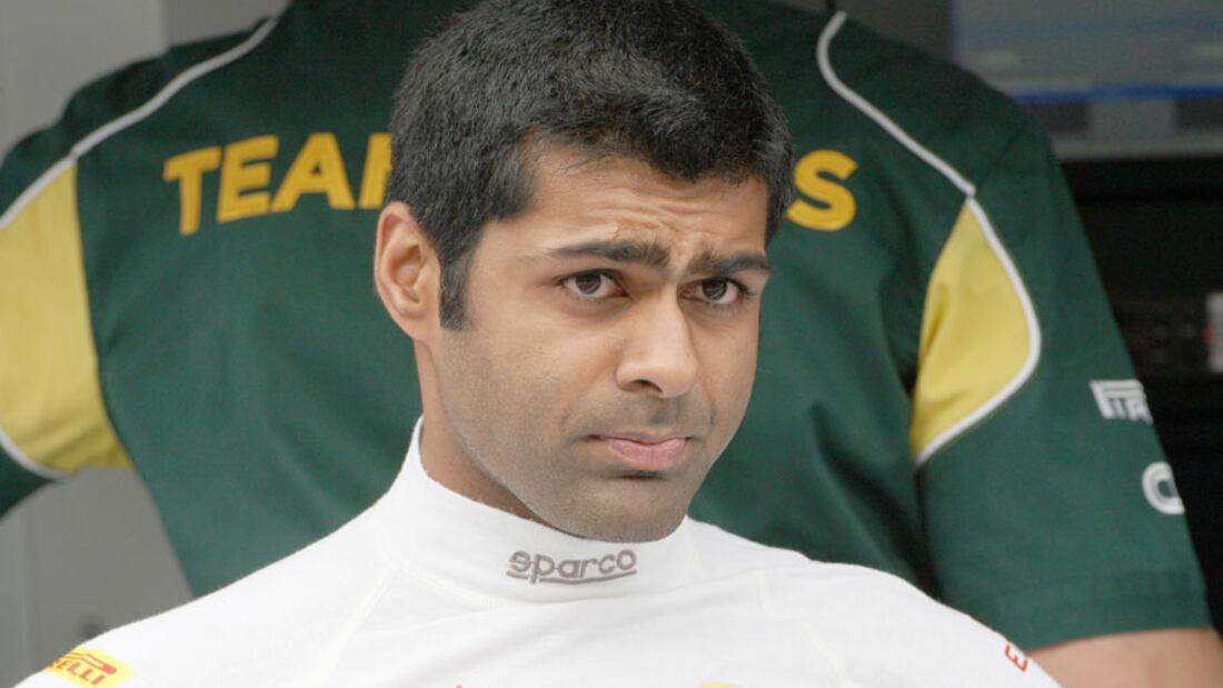 Karun Chandhok - GP Europa Valencia 2011