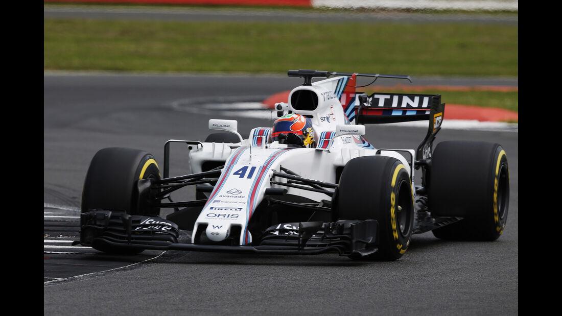 Karun Chandhok - Williams FW40 - Williams-Jubiläum - Silverstone - 2017