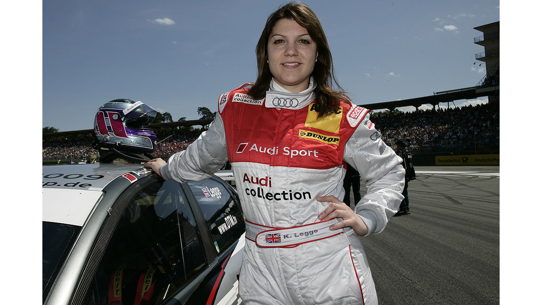 Katherine Legge, Audi Sport Team Abt Sportsline