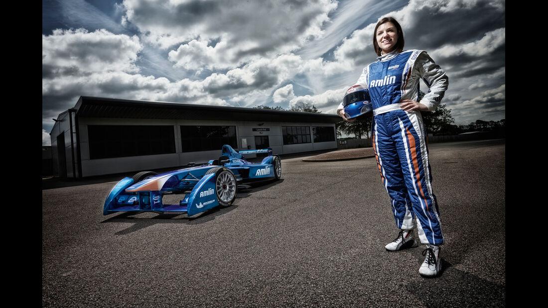 Katherine Legge - Formel E 2014