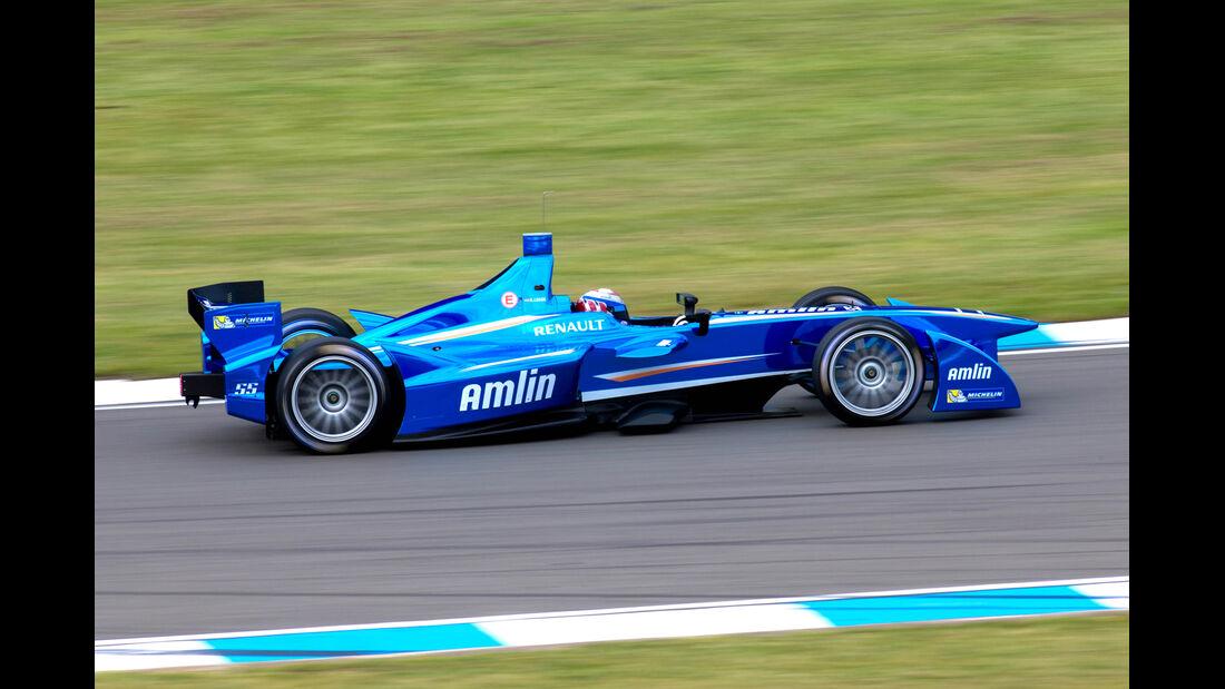 Katherine Legge - Formel E-Test - Donington - 07/2014