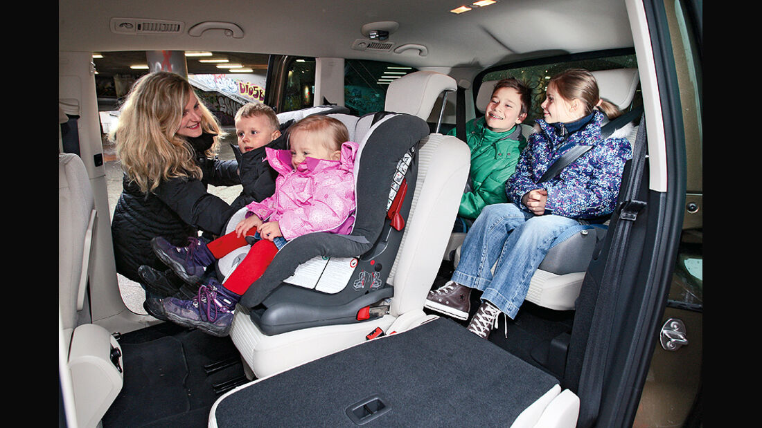 Kaufberatung Familienauto, drei Sitzreihen