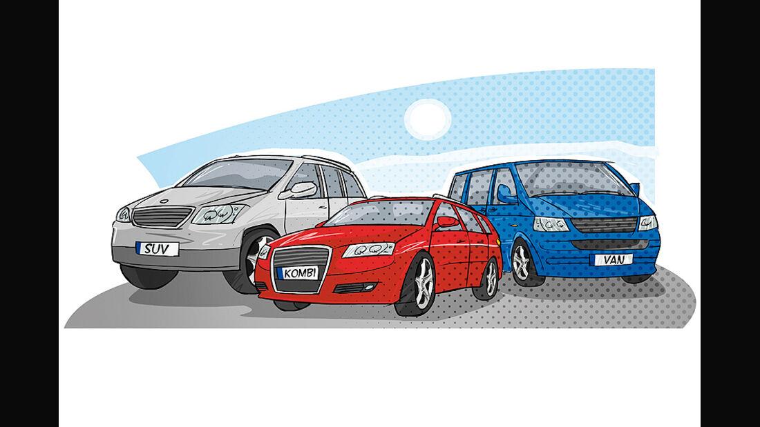 Kaufberatung Familienauto, familientaugliche Karosserie