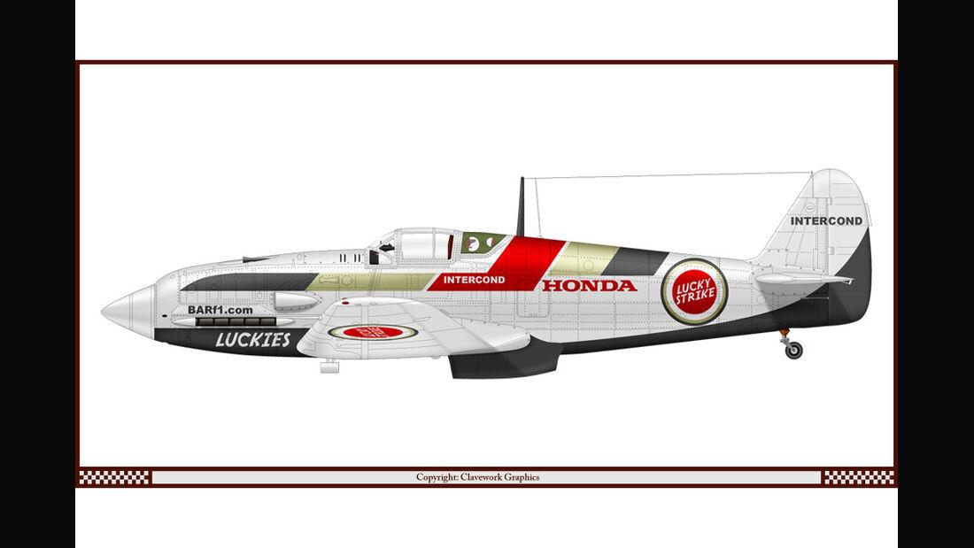 Kawasaki Ki-61 - Honda - Racing-Planes - 2015
