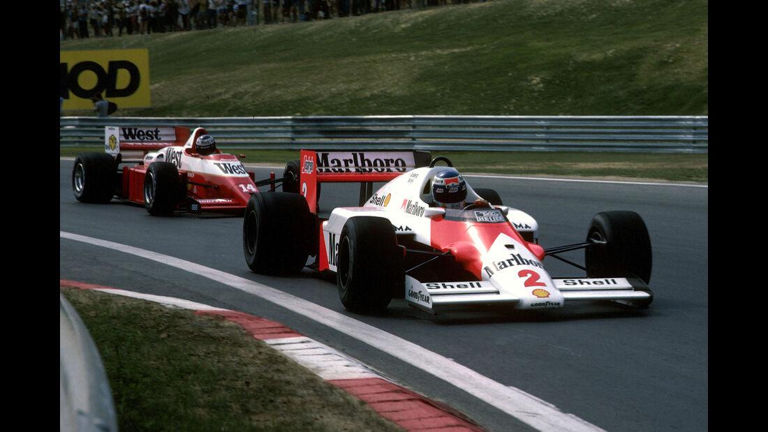 Keke Rosberg - Formel 1 - GP Ungarn 1986