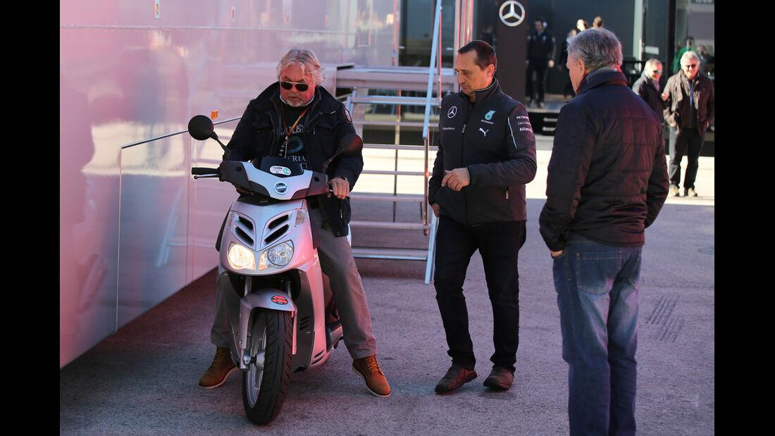 Keke Rosberg - Formel 1-Test Jerez - 1. Febraur 2015