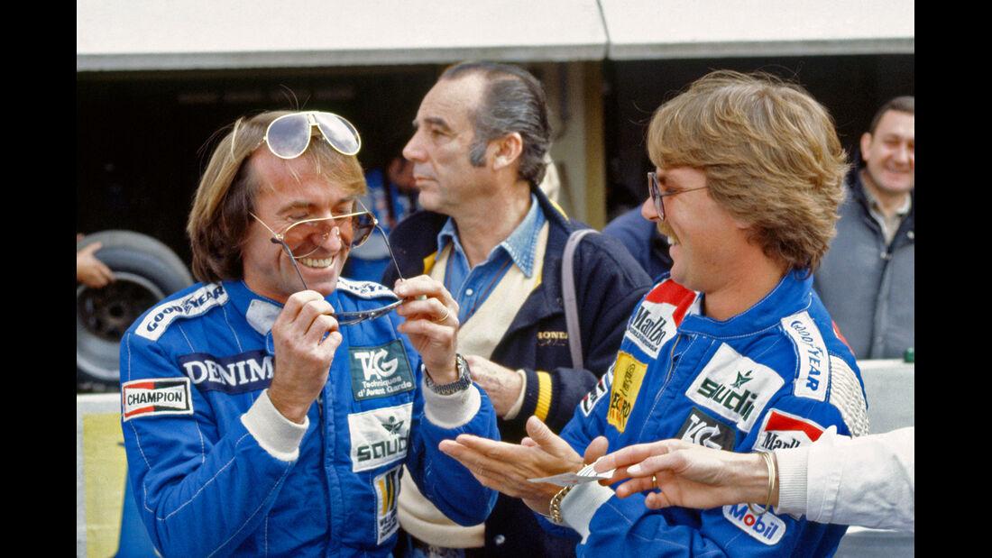 Keke Rosberg Jacques Laffite 1983