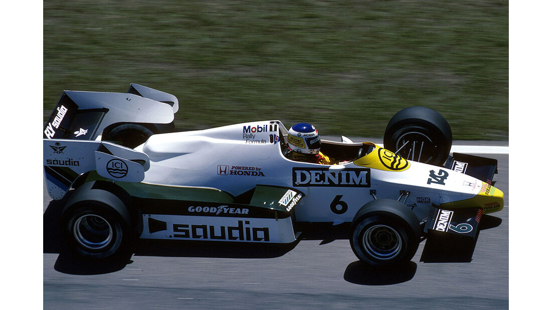 Keke Rosberg, Williams-Honda FW09 Turbo
