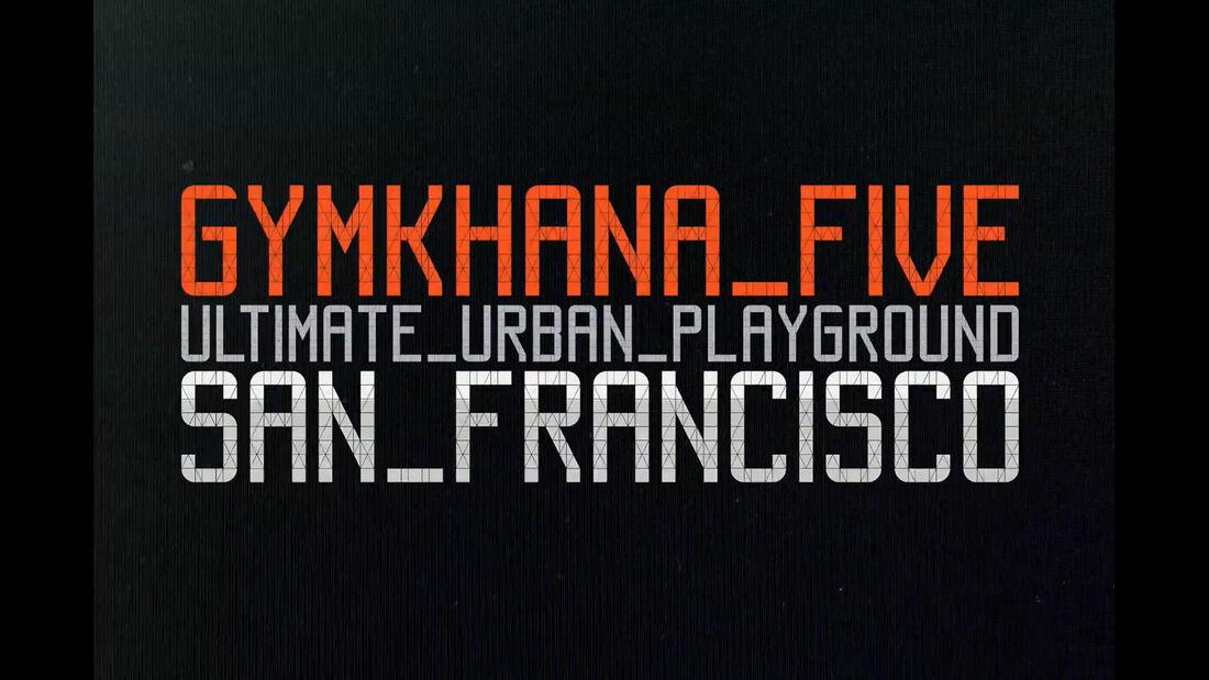 Ken Block Gymkhana 5 2012 Ford Fiesta