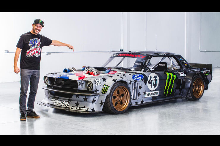 ken block hoonicorn v2 mega mustang jetzt mit ps auto motor und sport. Black Bedroom Furniture Sets. Home Design Ideas