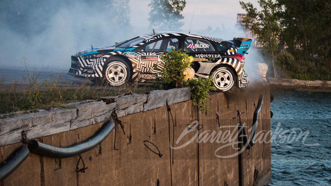 Ken Block Hoonigan Ford Focus RS RX 2016 Gymkhana Auktion