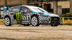 Ken Block Hoonigan Ford Focus RS RX 2016 Gymkhana Auktion