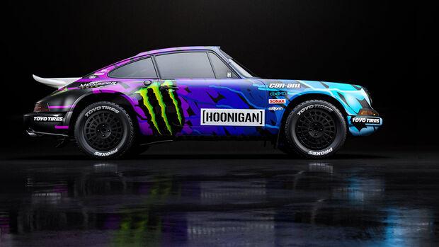 Ken Block Porsche 2021 Design