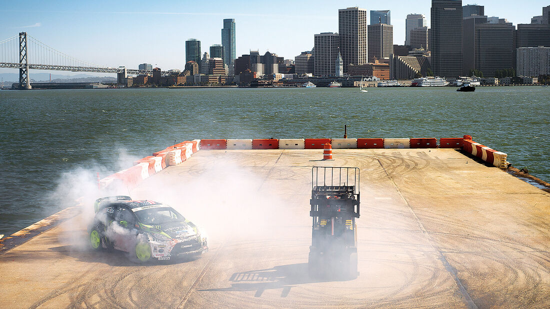 Ken Block, San Francisco, Driften