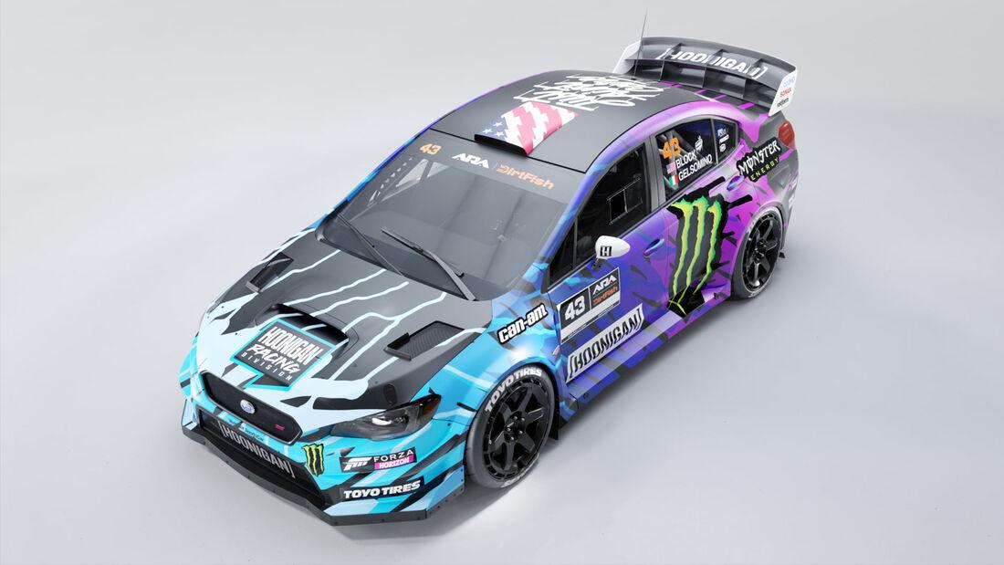 Ken Block Subaru WRX STi 2021 Design