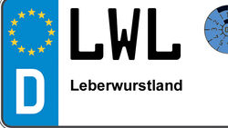 Kennzeichen-Bedeutung LWL