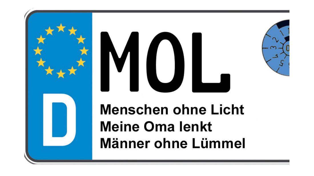 Kennzeichen-Bedeutung MOLMärkisch-Oderland