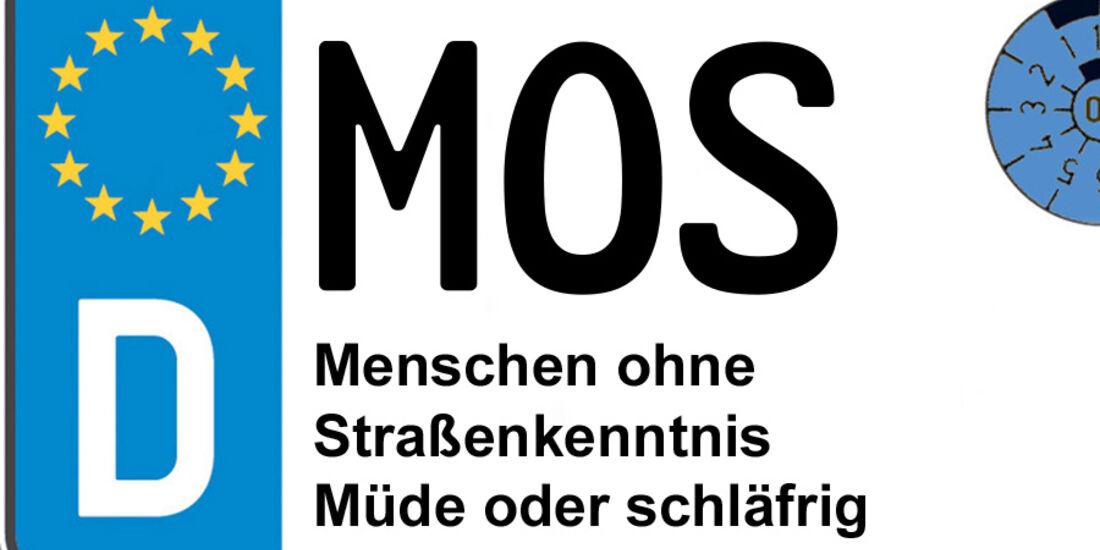 Kennzeichen-Bedeutung MOSNeckar-Odenwald-Kreis / Mosbach