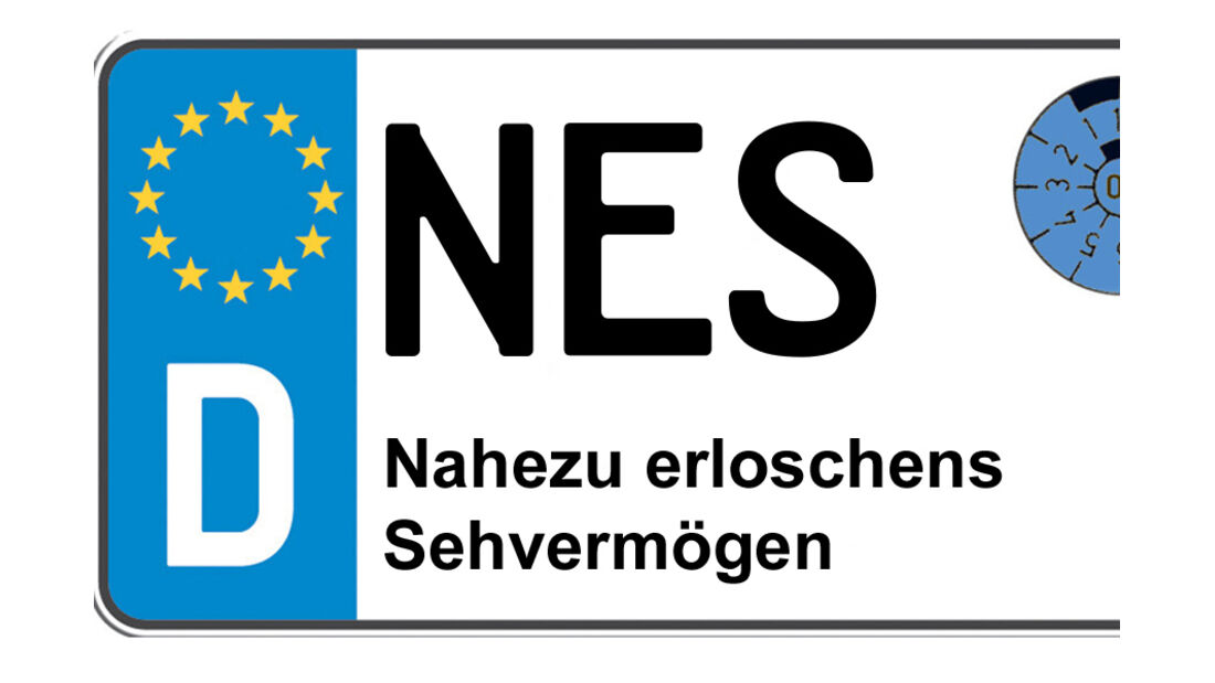Kennzeichen-Bedeutung NES Rhön-Grabfeld Bad Neustadt/Saale