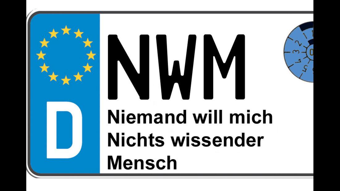 Kennzeichen-Bedeutung NWM Nordwestmecklenburg