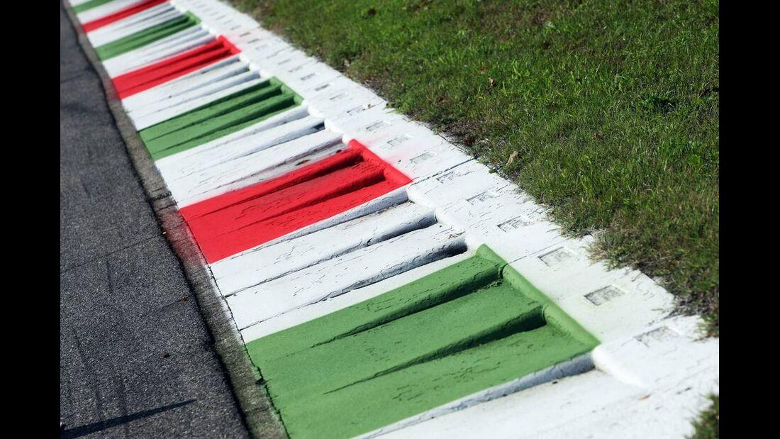 Kerbs - Formel 1 - GP Italien - 6. September 2012