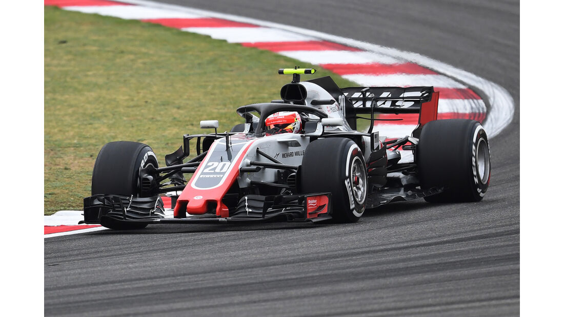 Kevin Magnusen - Formel 1 - GP China 2018
