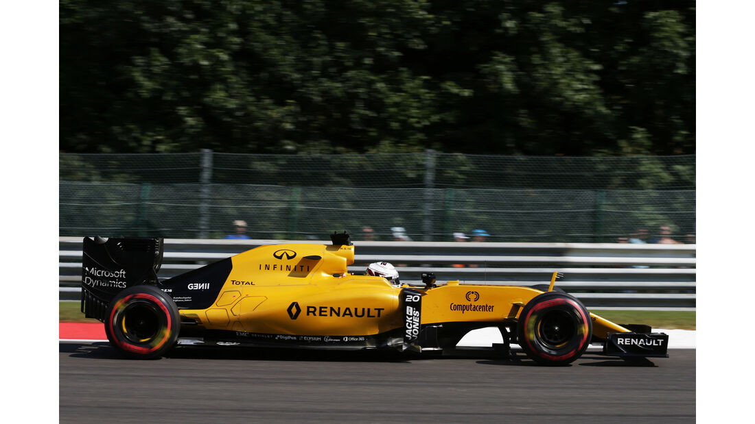 Kevin Magnussen - Formel 1  - GP Belgien 2016