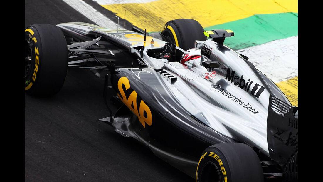 Kevin Magnussen - Formel 1 - GP Brasilien - 8. November 2014
