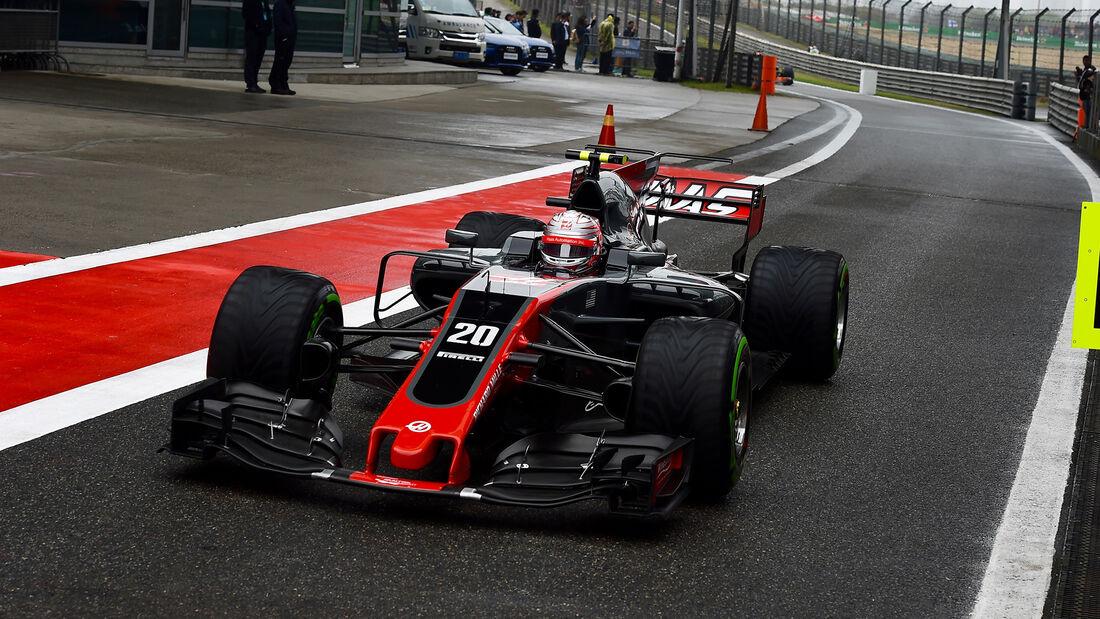 Kevin Magnussen - Formel 1 - GP China 2017