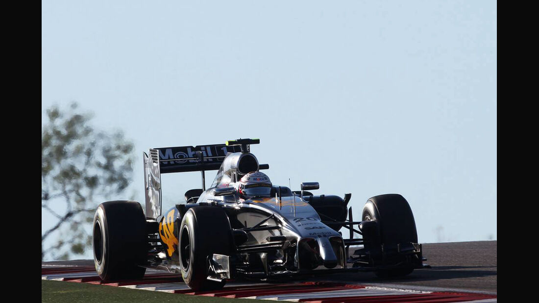 Kevin Magnussen - Formel 1 - GP USA - 1. November 2014