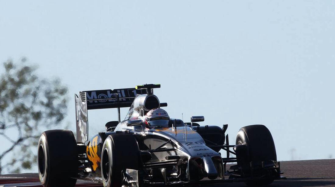 Kevin Magnussen - Formel 1 - GP USA - 1. November 2014