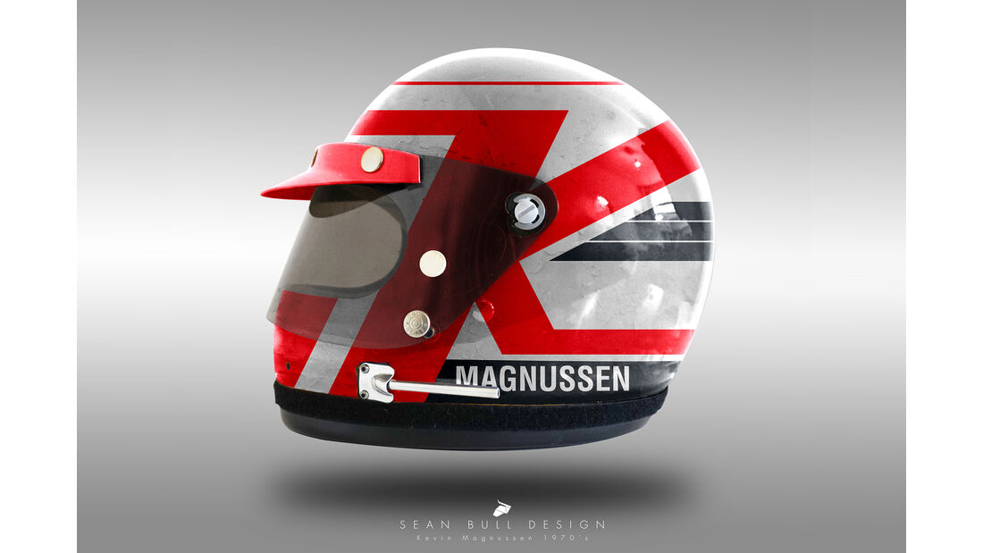 Kevin Magnussen - Formel 1 - Retro-Helme - Sean Bull - 2018