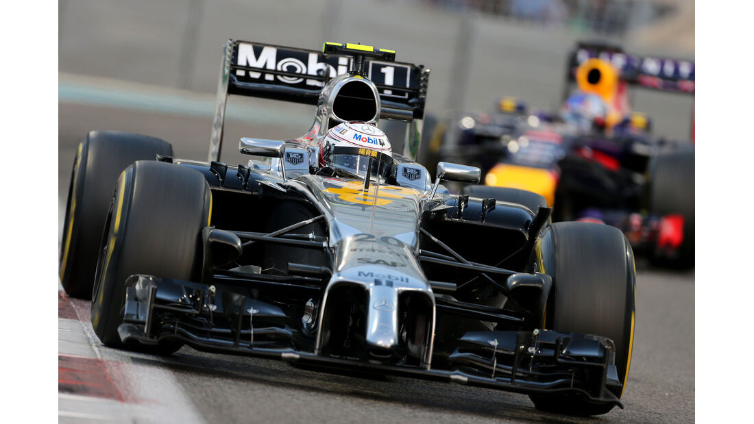 Kevin Magnussen - GP Abu Dhabi 2014