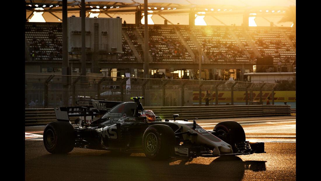 Kevin Magnussen - GP Abu Dhabi 2017