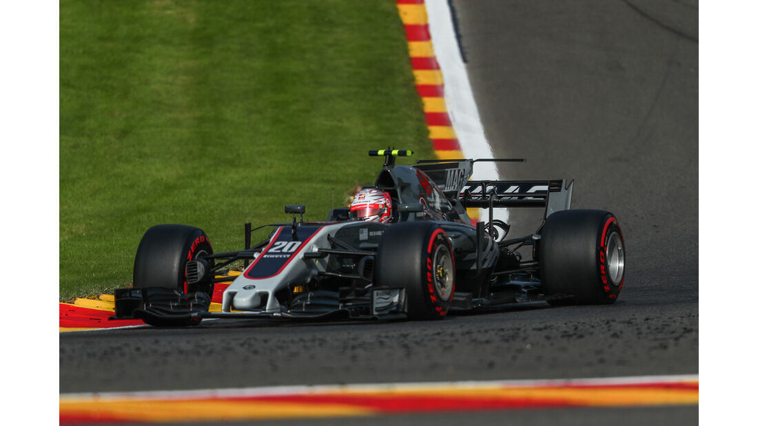 Kevin Magnussen - GP Belgien 2017