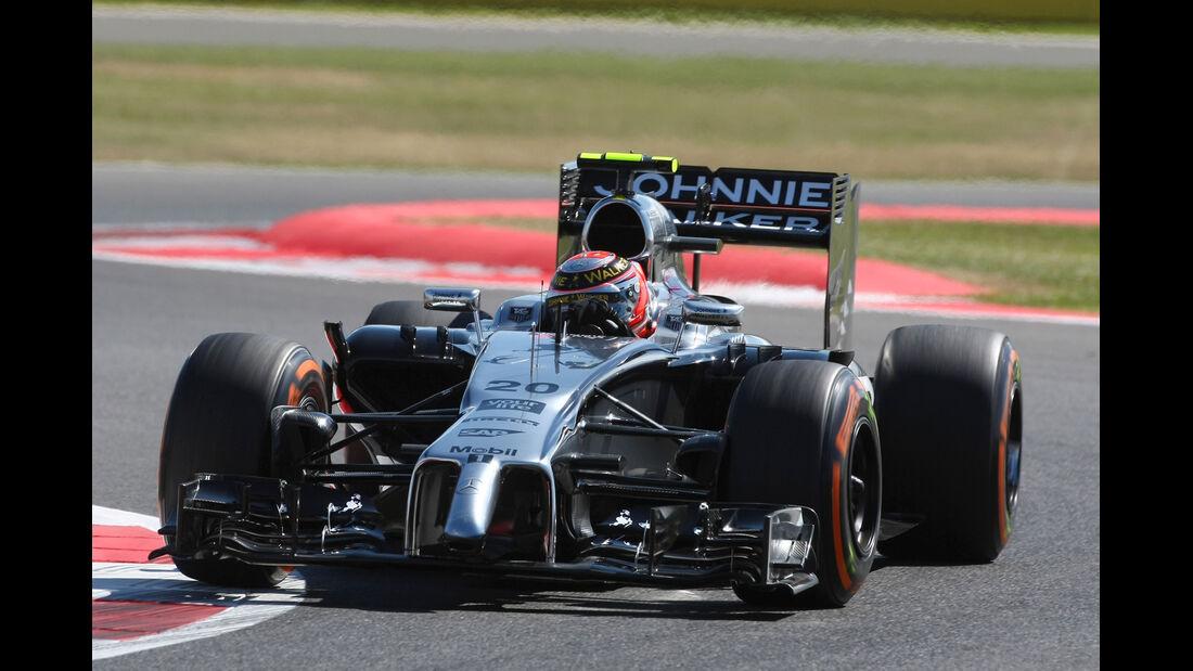 Kevin Magnussen - GP England 2014