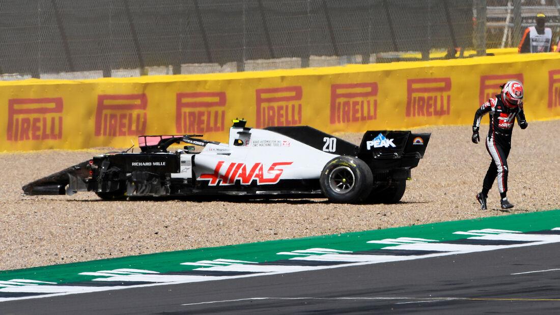Kevin Magnussen - GP England 2020