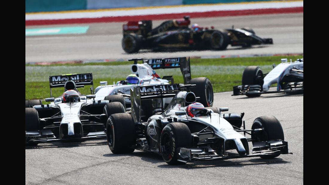 Kevin Magnussen - GP Malaysia 2014