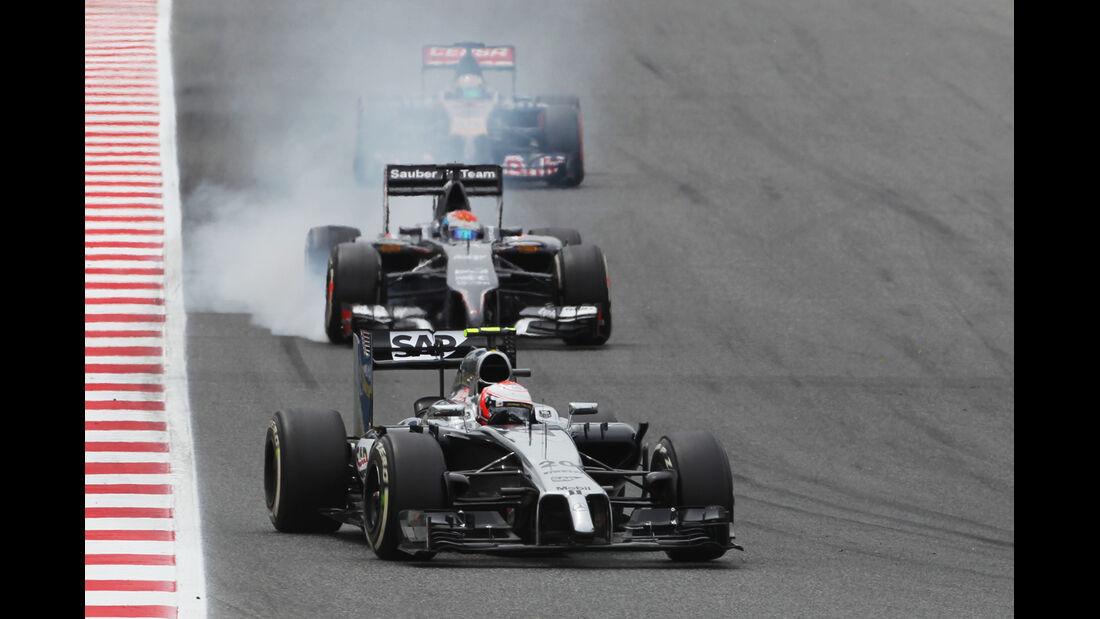 Kevin Magnussen - GP Spanien 2014