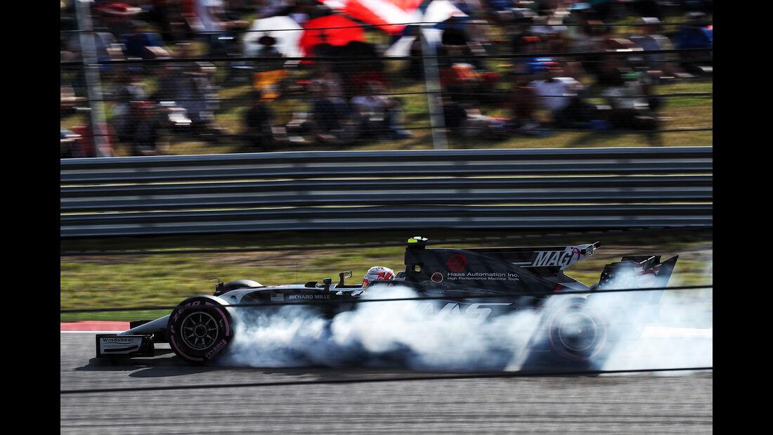 Kevin Magnussen - GP USA 2017