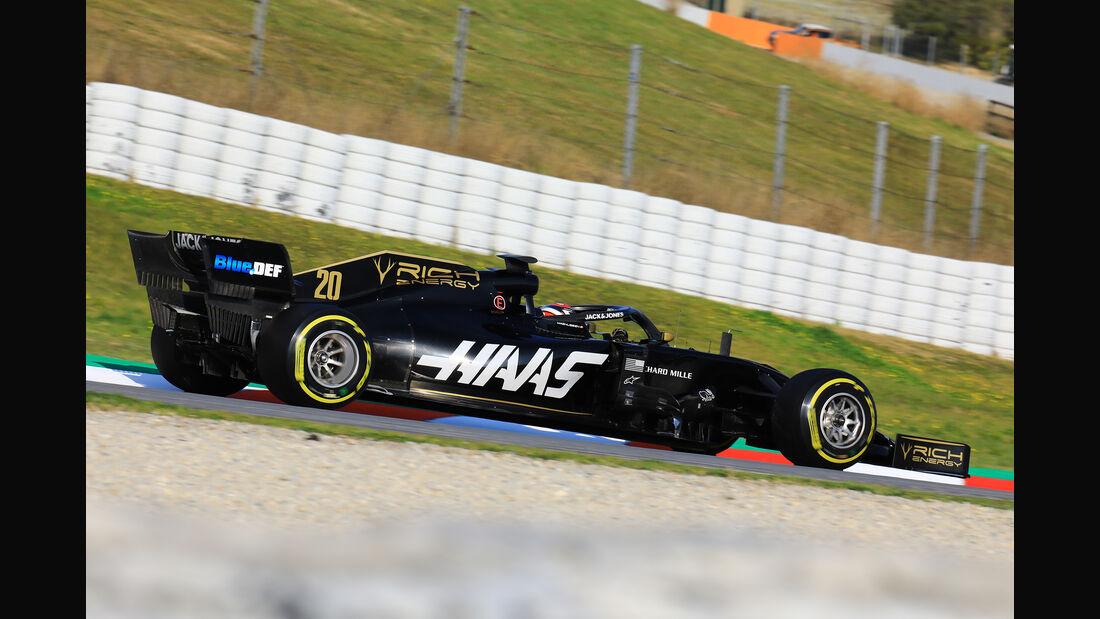 Kevin Magnussen - Haas - Barcelona - F1-Test - 19. Februar 2019