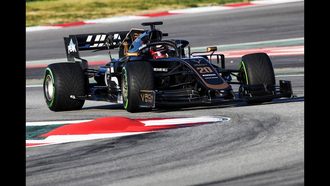 Kevin Magnussen - Haas - Barcelona - F1-Test - 26. Februar 2019