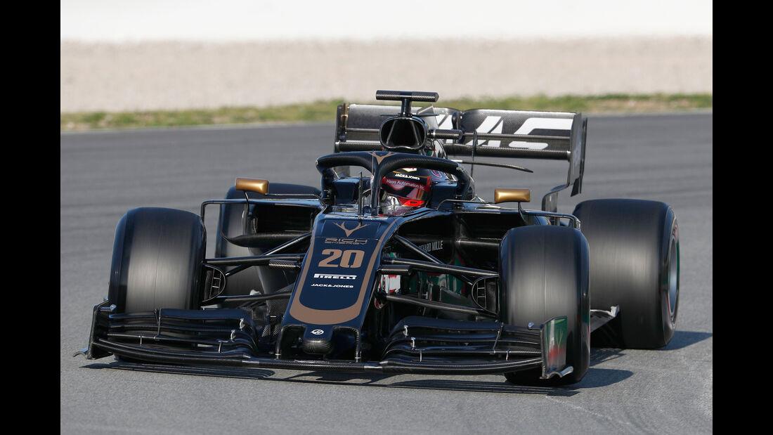 Kevin Magnussen - Haas - Barcelona - F1-Test - 27. Februar 2019