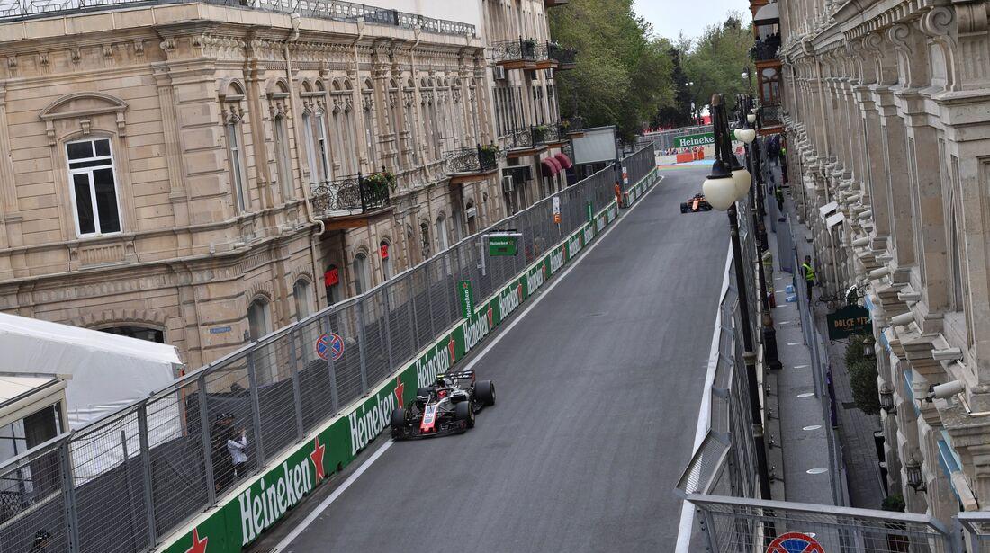 Kevin Magnussen - Haas F1 - Formel 1 - GP Aserbaidschan - 29. April 2018