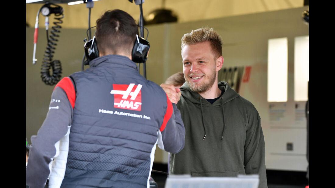 Kevin Magnussen - Haas F1 - Formel 1 - GP England - 13. Juli 2017